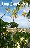 """Afficher """"Carnets de voyage d'un botaniste"""""""