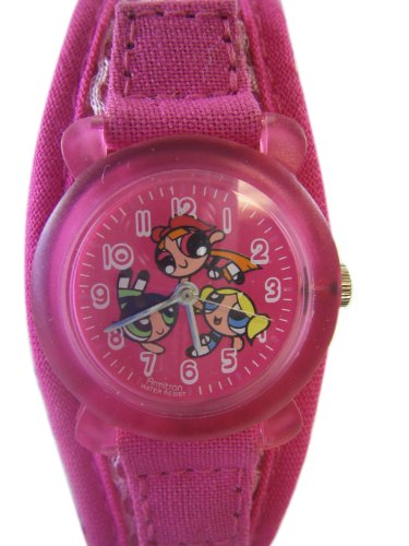 Pink Sportsband Powerpuff Girls Watch – Girls Powerpuff Girls Sportswatch