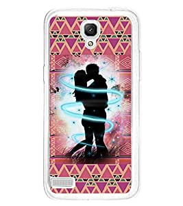 ifasho couple kissing Back Case Cover for Xiaomi Redmi Note 4G