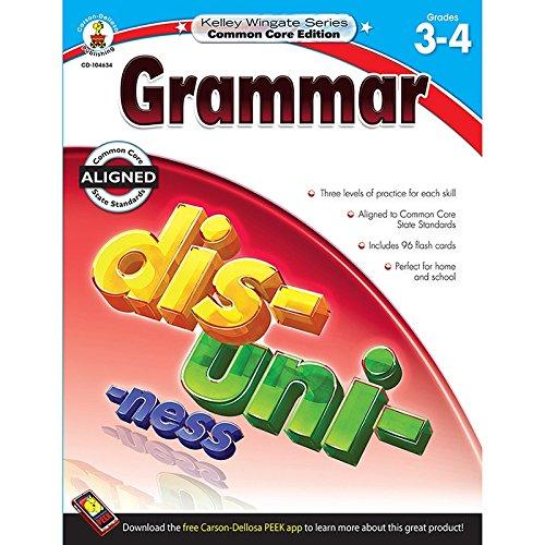 Grammar Grades Workbook Grades 3 - 4