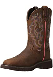 Justin Boots Women's Gypsy Square Toe Waterproof Boot