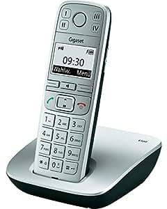 Gigaset E500H Téléphone sans fil Combiné supplémentaire pour base Titanium