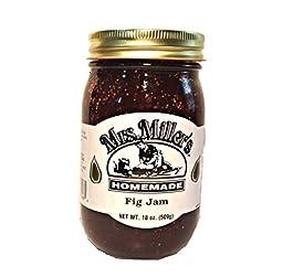 Mrs. Miller\'s Amish Homemade Fig Jam 18 oz/509g