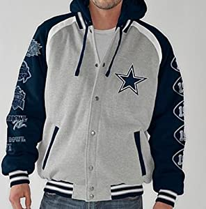 NFL Dallas COWBOYS Rookie of the Year Commemorative Fleece Jacket ~XL by G-III Sports