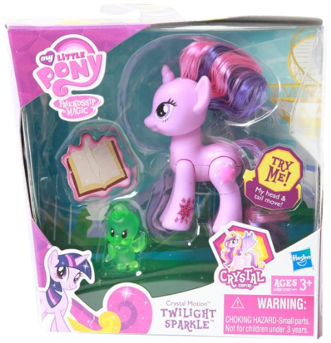 MLP Crystal Motion Twilight Sparkle Doll