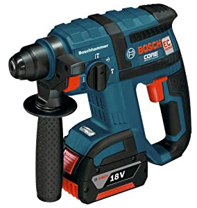 Bosch RHH181-01 18-Volt Lithium-Ion Brushless 3/4-Inch SDS-plus Rotary Hammer by Bosch
