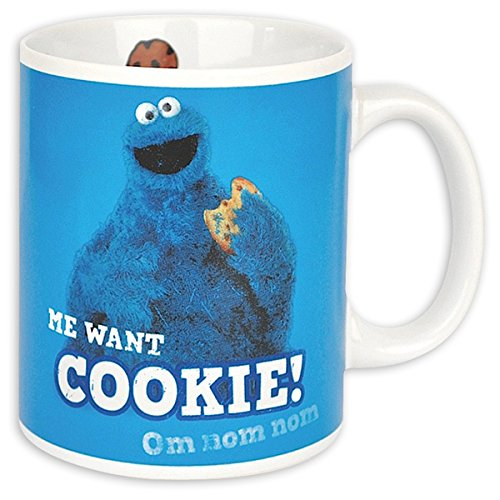 Sesame Street - Cermic Coffee Mug: Cookie Monster