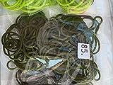 100Unidades Loom Bandas/5clips elegir color de menú desplegable..