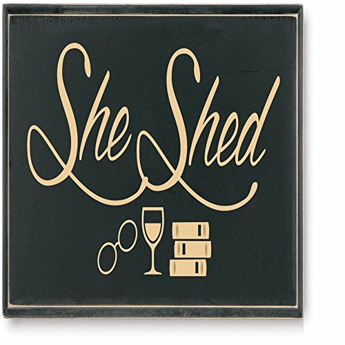 Exclusive She Shed Funny Wall Plaque