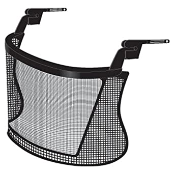 Jackson Safety 16800 Nylon Mesh Face Shield Safe 2 Protection System for Slotted Safety Cap