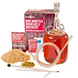 Monster Brew Home Brewing Supp Mini Bookshelf Amber Ale Brewery