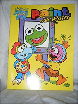 Jim Henson's Muppet Babies Paint with Water: 9781593940126 ...