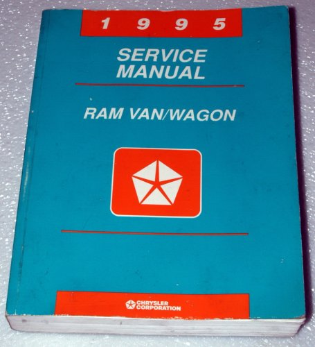 1995 Dodge Ram Van Factory Service Manual (B1500 B2500 B3500) Chrysler Corporation