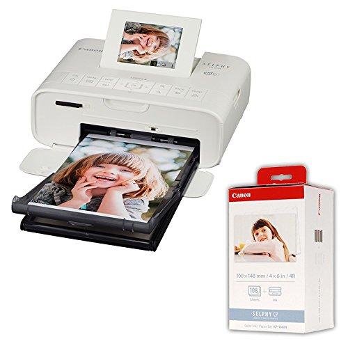 CANON Imprimante SELPHY CP1200 Blanche GARANTIE 2 ANS + KP108