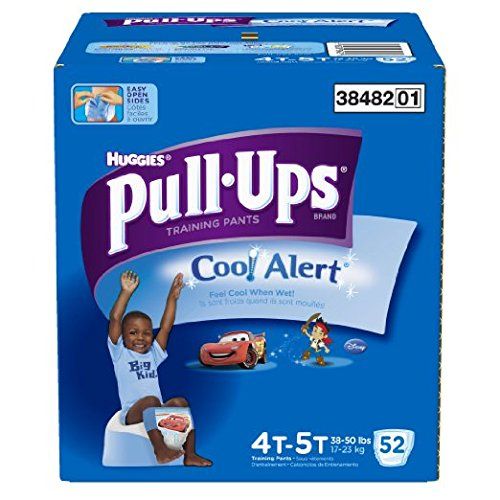 Pull-Ups Training Pants with Cool Alert for Boys, 52 Count (Cool Alert Training Pants compare prices)
