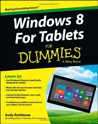 Windows For Tablets For Dummies (For Dummies (Computer/Tech))