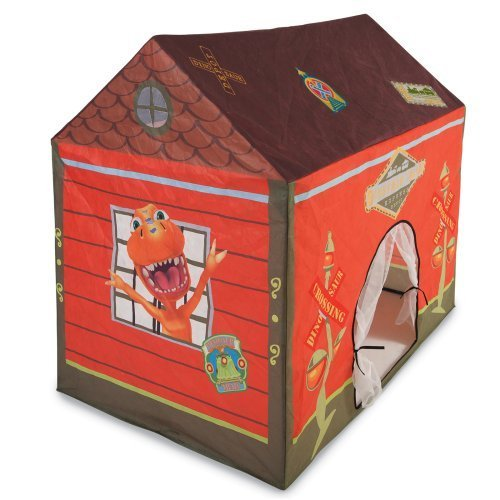 Pacific Play Dinosaur Train Station House Tent front-770630
