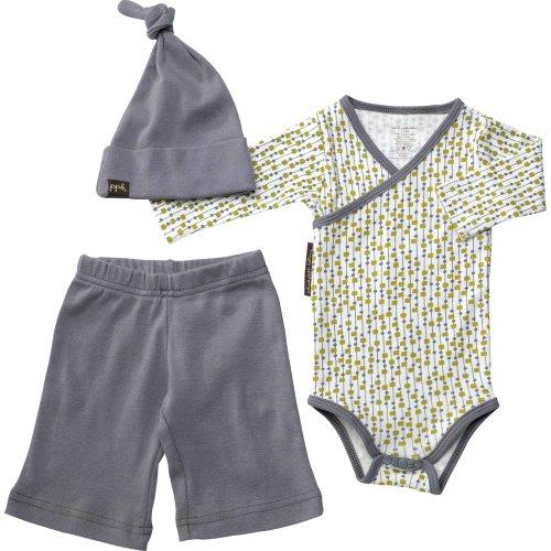 petunia-pickle-bottom-completino-per-bebe-con-cappello-grigio-raindrop-shape-0-3-mesi