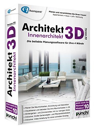 architekt 3d x8 innenarchitekt. Black Bedroom Furniture Sets. Home Design Ideas