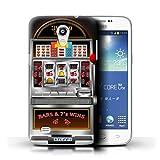 STUFF4 Phone Case Cover for Samsung Galaxy Core Lite 4GG3588V Machine Design Slot Machine Collection