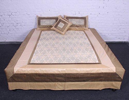 jth Stunning Royal Set di biancheria da letto 5pezzi phaiesly seta indiano di cotone stampato letto Cover