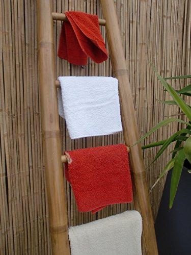 Bambusleiter-Leiter-Handtuchhalter-Bambus-200-cm-x-50-36-cm