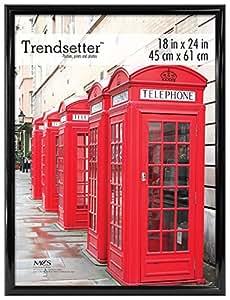 MCS 27824 Trendsetter Poster Frame, 18 by 24-Inch, Black