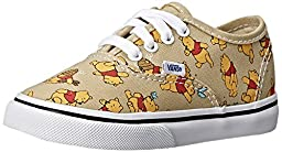 Vans Disney Infant Light Khaki Winnie The Pooh Sneakers, VN-01T0GHJ (5 US Infant/Toddler, (Disney) Winniethepooh/Lt Khaki)