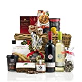 #10: Virginia Hayward Christmas Cracker Hamper Basket incl. 2 x 75 cl Wine Bottles