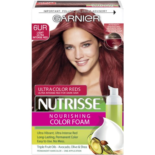 Nutrisse Nourishing Color Foam Light Ultra Intense Red
