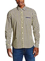 Otto Kern Camisa Hombre (Amarillo)