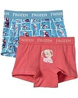NAME IT Mädchen Unterhose Frozen Kids Boxer Briefs X - sp15, 2er Pack