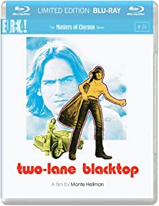 Two-Lane Blacktop (1971) ( Two Lane Blacktop ) ( 2 Lane Black top ) [ NON-USA FORMAT, Blu-Ray, Reg.B Import - United Kingdom ]