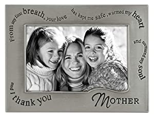 Malden 6543-46 4 X 6 Inches Wavy Words for Mother Photo Frame