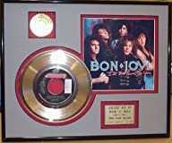 "Bon Jovi ""I'Ll Be There For You"" Framed 24Kt Gold Record Art"