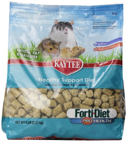 Kaytee Forti Diet Pro Health Mouse, Rat 5-Pound