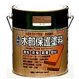 ニッペ 油性木部保護塗料 1.6L ウォルナット