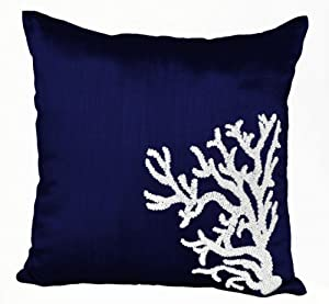 Amazon.com - Decorative Throw Pillow Covers with Coral Reef