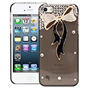 3D Bling Crystal Design Case for Apple iPhone 5 5S