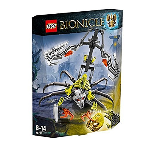 LEGO Bionicle - 70794 - Jeu De Construction - Le Crâne Scorpion