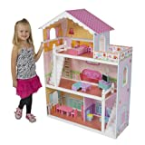 Best Choice Products® Children's Wooden Dollhouse Big Wood...