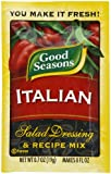 Good Seasons Salad Dressing & Recipe Mix, Italian, 0.7-Ounce Packets (Pack of 24)