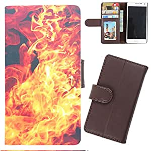 DooDa - For Nokia Lumia 520 PU Leather Designer Fashionable Fancy Wallet Flip Case Cover Pouch With Card, ID & Cash Slots And Smooth Inner Velvet With Strong Magnetic Lock