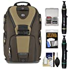Tamrac 5788 Evolution 8 Photo Digital SLR Camera Sling Backpack (Brown/Tan) with Lenspens + Accessory Kit Combo for Canon EOS 70D, 6D, 5D Mark III, Rebel T3, T5i, SL1, Nikon D3200, D5200, D5300, D7100, D600, D800, Sony Alpha A65, A77, A99