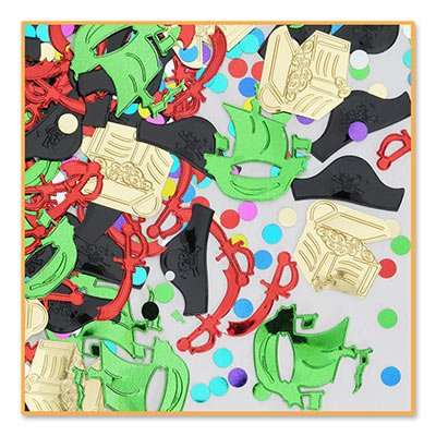2 Packages of Pirate Party Confetti/PARTY SUPPLIES/TABLE DECORATIONS
