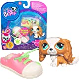 Littlest Pet Shop Collector Pet Pairs Series 1 Figure King Charles Spaniel With Shoe Special Edition Pet