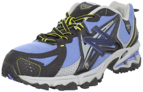 New Balance Women's WT810 Trail Running Shoe,Blue/Black,5 D US