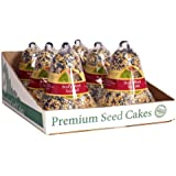 Heath Outdoor Products SC-11 Birds Blend Seed Cake Bell, 14-Ounce Pack of 6