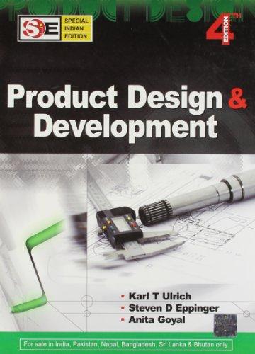 Product Design & Development international student edition