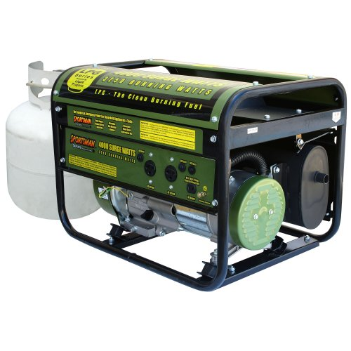 Sportsman Series Sportsman GEN4000LP 4,000 Watt 6.5 HP OVH Propane Powered Portable Generator